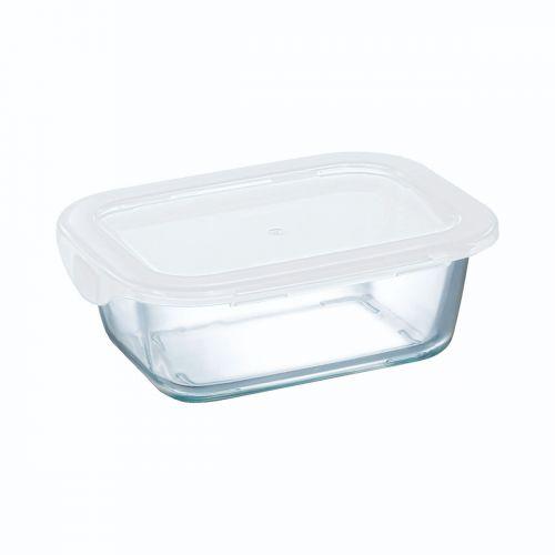 Boîte rectangulaire 38 cl avec couvercle Food Box