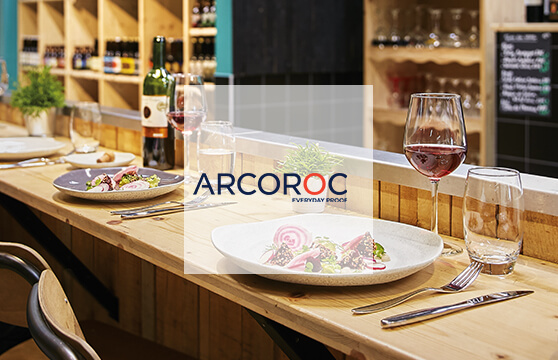 banniere 1 arcoroc marque des professionnels de la restauration