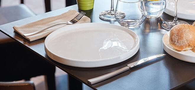 Assiette en porcelaine Fords par Arcoroc