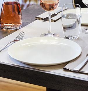Assiette intensity origine table resto chic arcoroc