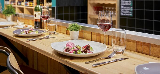 Table neo bitrot rocaleo vina et lazzo patina Arcoroc