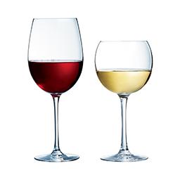Verres à pied verre à vin collection Cabernet ballon et tulipe Chef&Sommelier