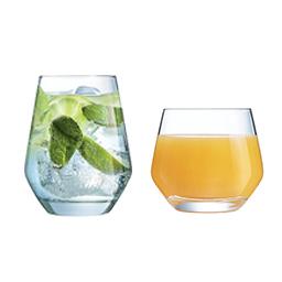 gobelet à eau et à jus collection Lima chef&sommelier