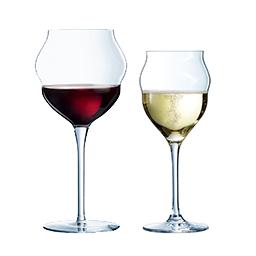 verre à vin design collection macaron en cristallin chef&sommelier