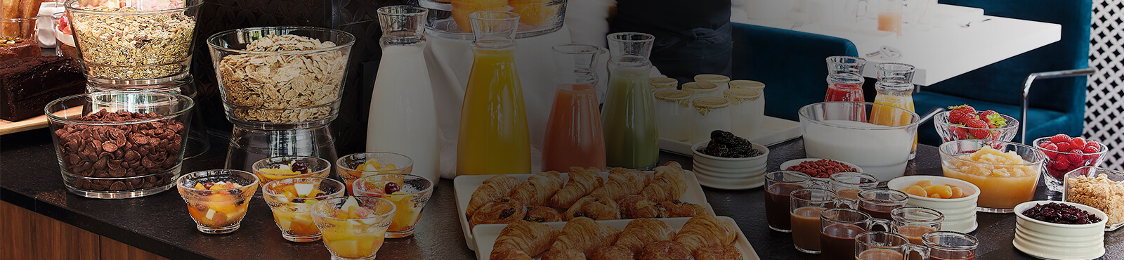 Banniere buffet petit déjeuner par Arcoroc