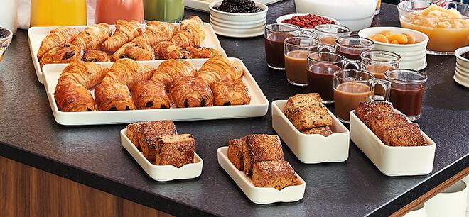 buffet petit déjeuner concept Mekkano