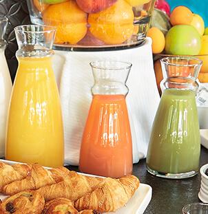 Carafe fluid arcoroc buffet petit déjeuner