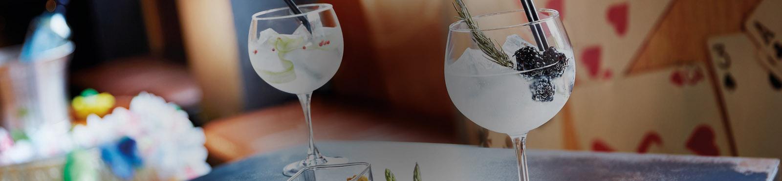 Verre à gin tonic ban