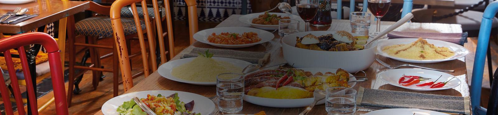 Banniere solution tables cuisine méditerranéenne