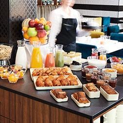 solution buffet petit déjeuner pour hotel