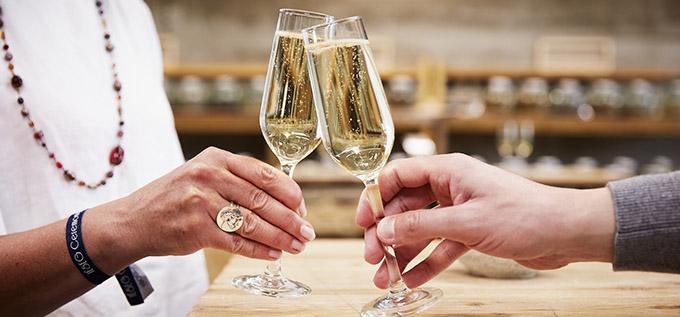 coupe à champagne Domaine Arcoroc