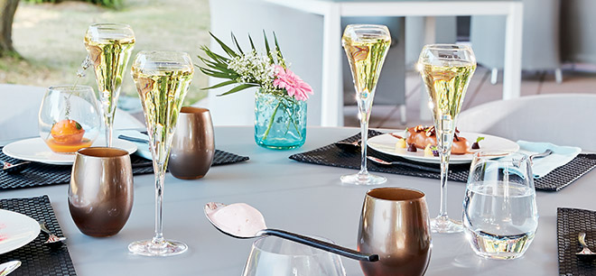 Flutes à champagne Open Up Chef&Sommelier
