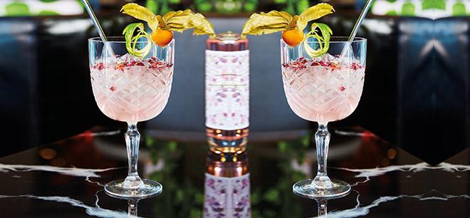 Broadway verre à pied Gin tonic