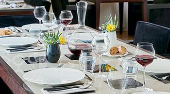 Solution grande table Arcoroc