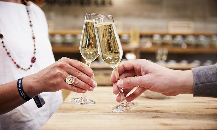 Solution pour le champagne